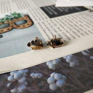 Lia Sophia Vintage Design Gold Plated Earrings